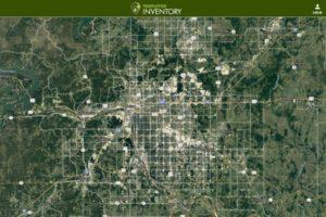 map tulsa urban forest